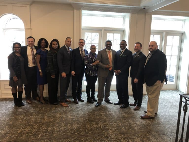 Our former 2nd VP Michael Rollins was honored at the Annual Labor Breakfast hosted by the Essex County Democratic Committee: Friday, March 6, 2020