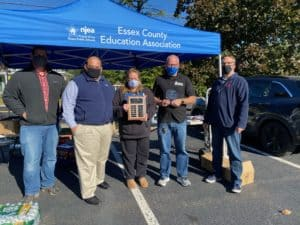 Congratulations to Irvington EA for winning the 2020 Essex County Bargaining Team Award of the Year!